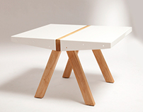 The Eleven Side Table by Strand Design