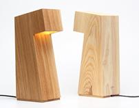 The Seven Desk Lamp by Strand Design