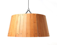 The Refold Lamp by Strand Design