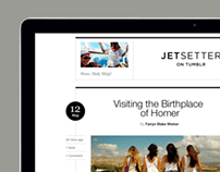 Jetsetter on Tumblr website