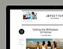 Jetsetter on Tumblr website