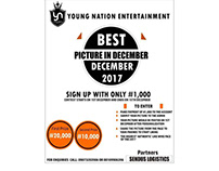 Young Nation Entertainment Facebook contest of 2017.
