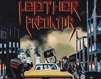 Leather Predator's debut EP - Album Covers