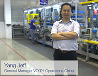 VOITH TURBO WORLDWIDE TESTIMONIAL CAMPAIGN