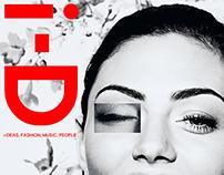 i-D Magazine Cover & Balmain Ad