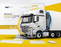 Logistics Website UI