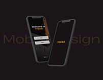 Mobile design - TREBA