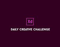Daily XD Challenge - Aug/Sep 2018