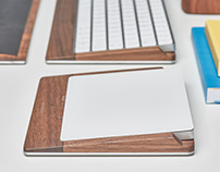 The Grovemade Keyboard & Trackpad Tray 2.0