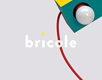 Catalogue, objects and visual identity – Bricole