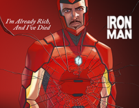 Iron Man Hip Hop Variant Cover