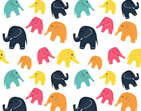 FREE Elephant's Party Clipart