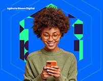 Agência Bloom Digital - Identidade Visual