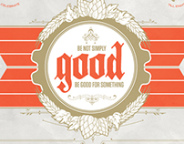Good | Typography Poster