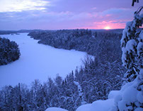 Still Photography - Sunrise in the Boundary Waters