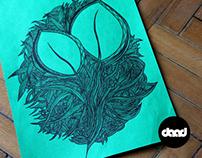 Green doodles