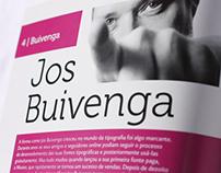 Jos Buivenga magazine