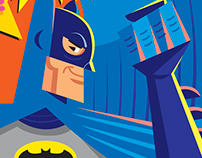 Batman / Adama West