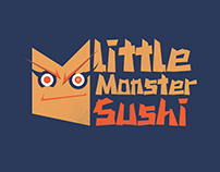 Little Monster Sushi Branding