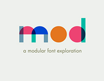 Mod  - A modular font exploration