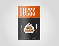 GUESS Restaurant Menu | 2012