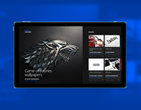 Behance Windows 8 App