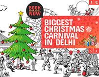 Christmas Carnival Website