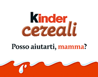 Kinder Cereali #PossoAiutartiMamma