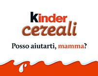 Kinder Cereali #PossoAiutartiMamma