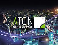 ATON srl / Web • Corporate identity • Rendering 3D