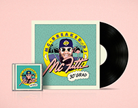 MC Fitti »30° Grad« Single Artwork