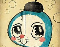Portrait of Doraemon's Creator