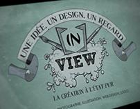 Recherche d'identité visuelle pour le collectif inView