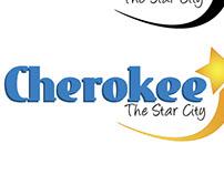 Cherokee city logo