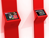Ladbrokes Self Service Betting Terminal