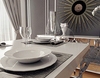 Dining Room - Concept Design | 3D Rendering