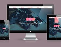 Responsive Website: Carmen Alldred Photography