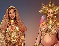 Beyoncé Gold