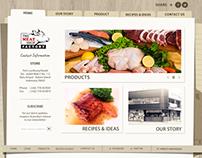 THE MEAT SHOP FACTORY - WEB DESIGN