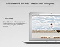 Concept Sito Web - Pizzeria Don Rodriguez