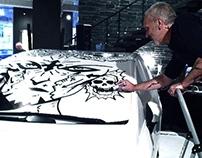 """""""DEATH cab""""-ACTION ART-ZÏLON-7th SEPT 2012."""