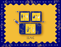 seave = sea wave