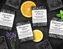 Charcoal Soap Packaging