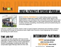 Digital Pathways Internship Flyer