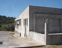 Bioclimatic house in Mintilogli, Greece.