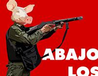 Abajo los cerdos
