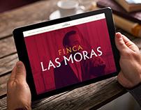Finca Las Moras - Web Design