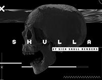 SKULLA- SICK SKULL RENDERS
