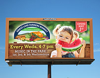 Grass Lake Farmers Market Billboard