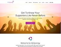 Дизайн сайта британской компании nfpSynergy